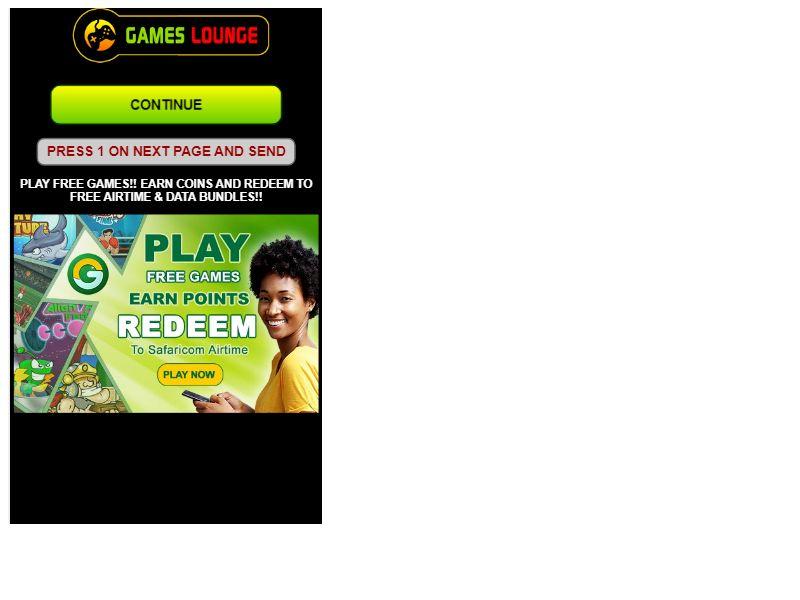 Games Lounge Safaricom