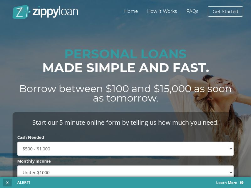 PRIVATE - Zippy Loan - US