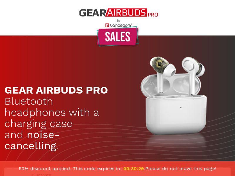 GearAirbuds Pro! (Straight Sale) V2 - WW