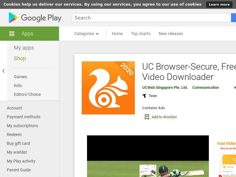 UC Browser U3-GP - IN