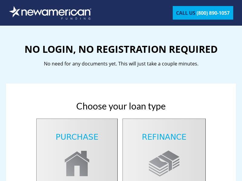 US - New American Funding - Refinance
