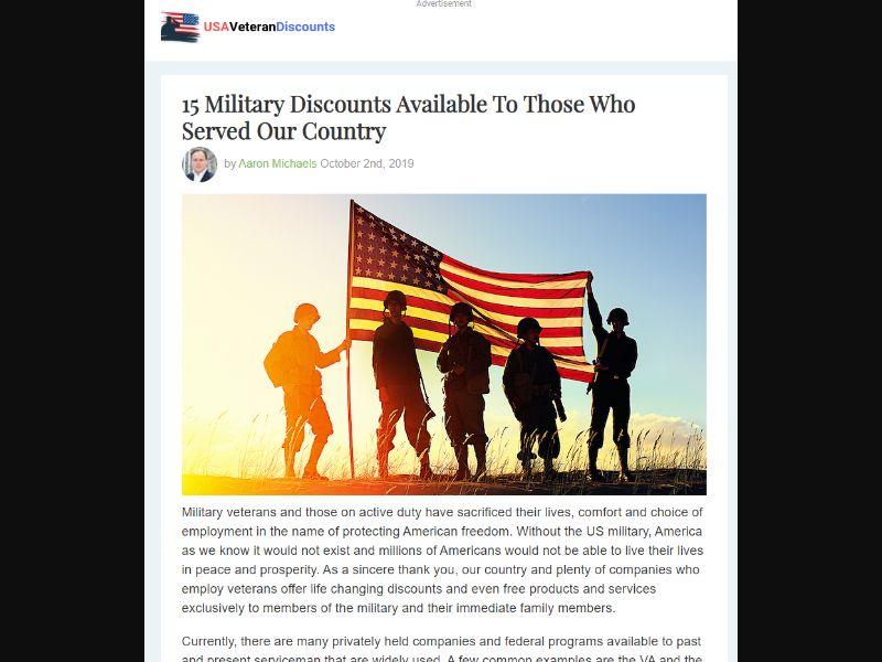 Veterans Savings Listicle US | CPA
