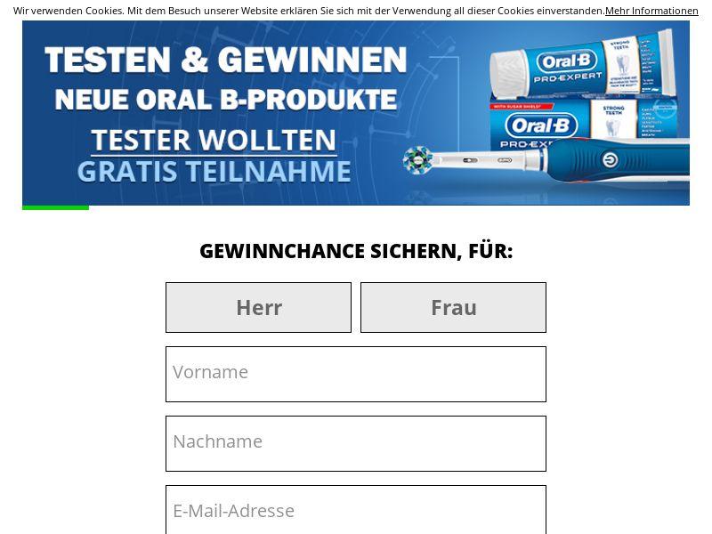 Oral B Voucher - DE