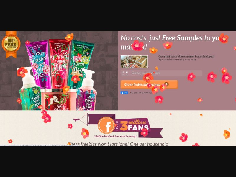 Get It Free - Bath and Body Samples - CPL   US