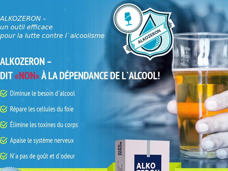 Alkozeron FR - alcoholism treatment product