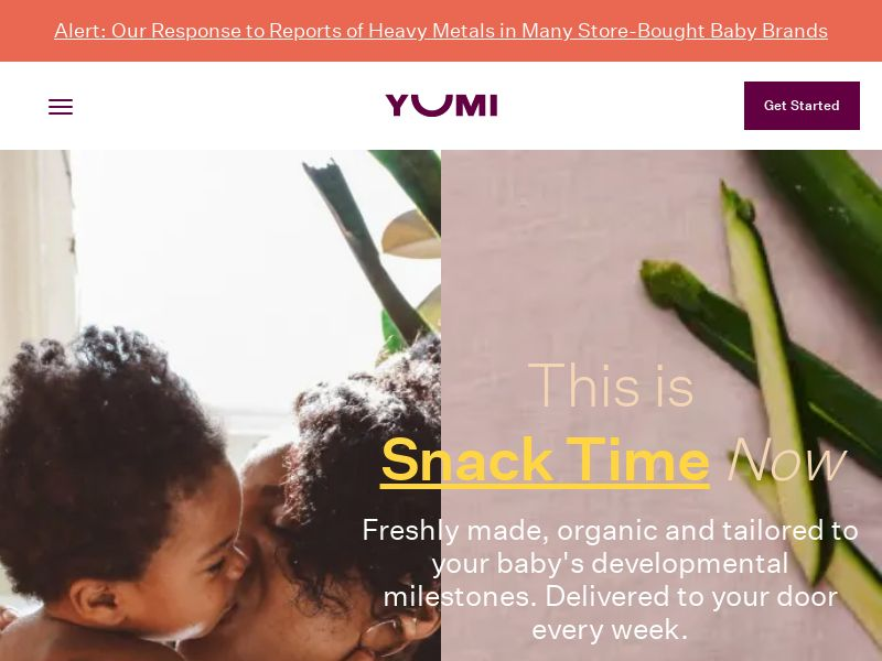 Yumi Baby Food - INCENT - US