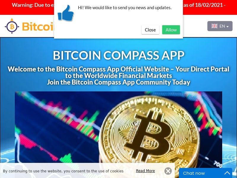 Bitcoin Compass App Portuguese 2578