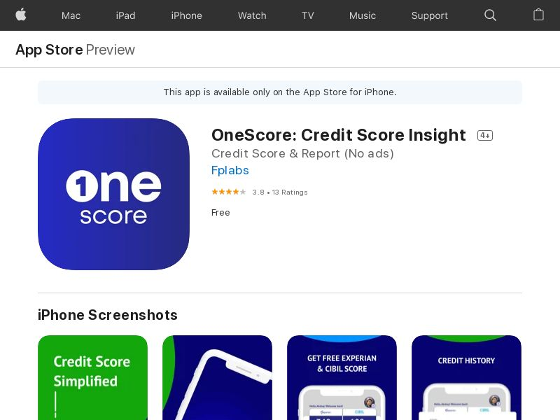 IN - 5622|Onescore_IN_iOS_CPR_nonincent - - (SCAPI)