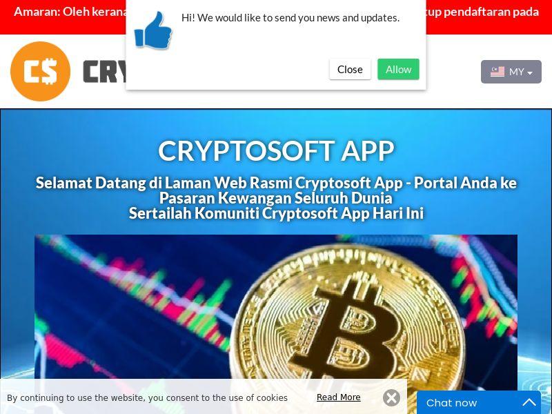 Cryptosoft App Malay 2980