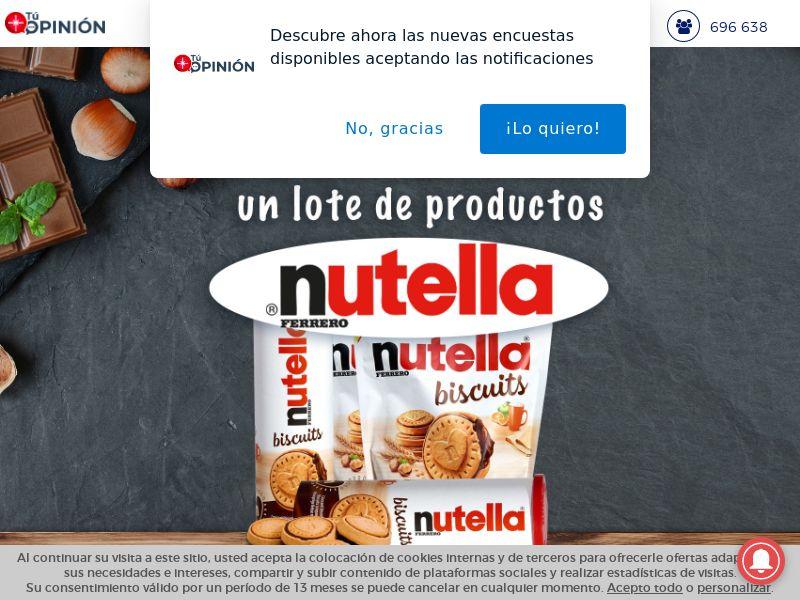 Win Nutella - ES