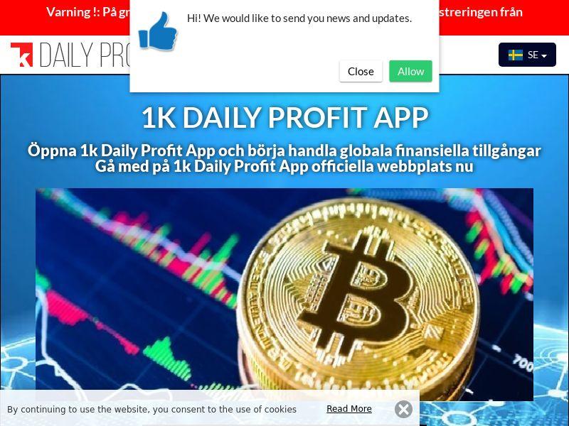 1k Daily Profit App Swedish 2753