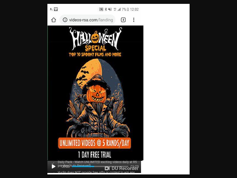 Halloween Special MTN [ZA] - 2 click