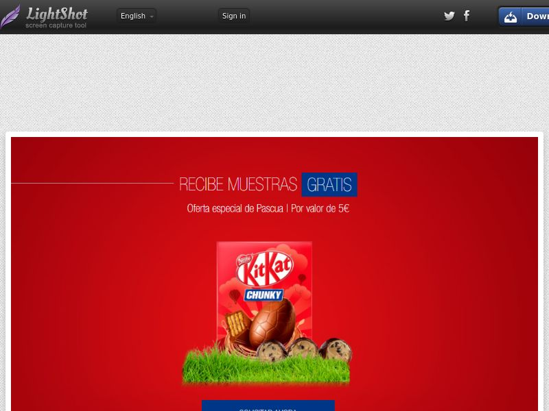 Portal Leads - Kit Kat Easter (ES) (CPL) (Incent) (Personal Approval)