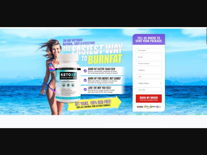 Keto XP Advanced Weight Loss - Diet & Weight Loss - SS - NO SEO - [US]