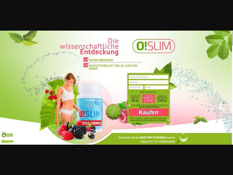 O!Slim - Diet & Weight Loss - SS - [DE]