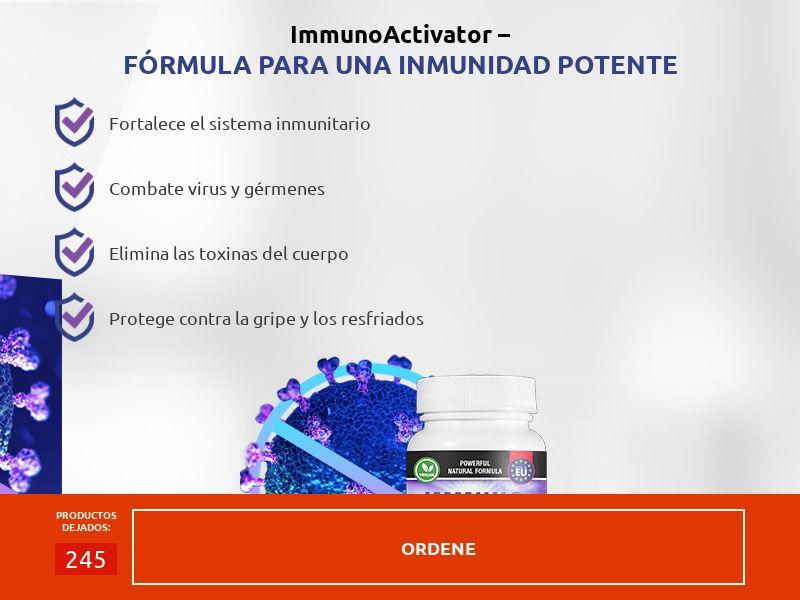 Immuno Activator Natural Vitamins - 17€ - COD - Desktop & Mobile [ES]