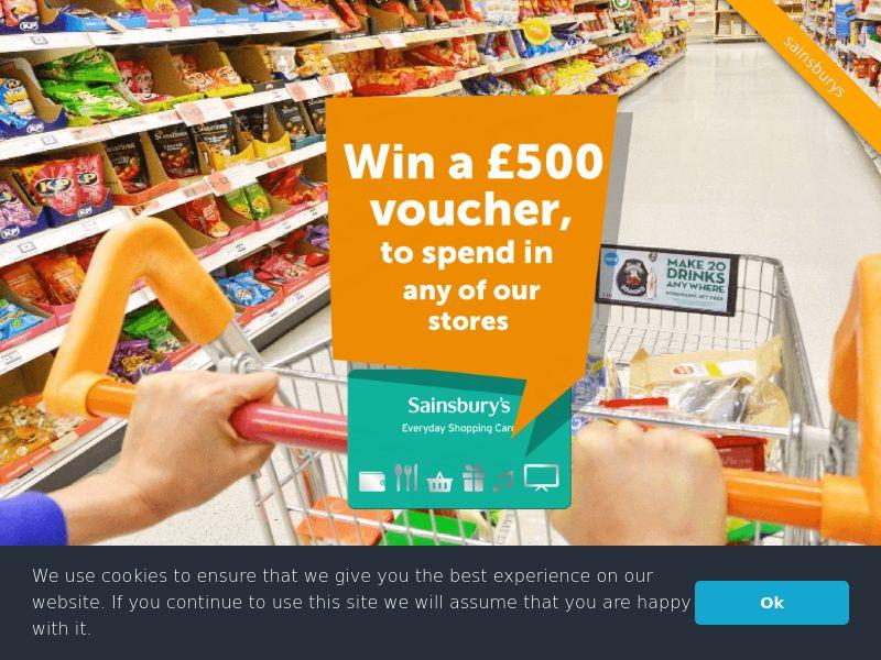 Sainsbury's - £500 voucher - UK (GB), [CPL]