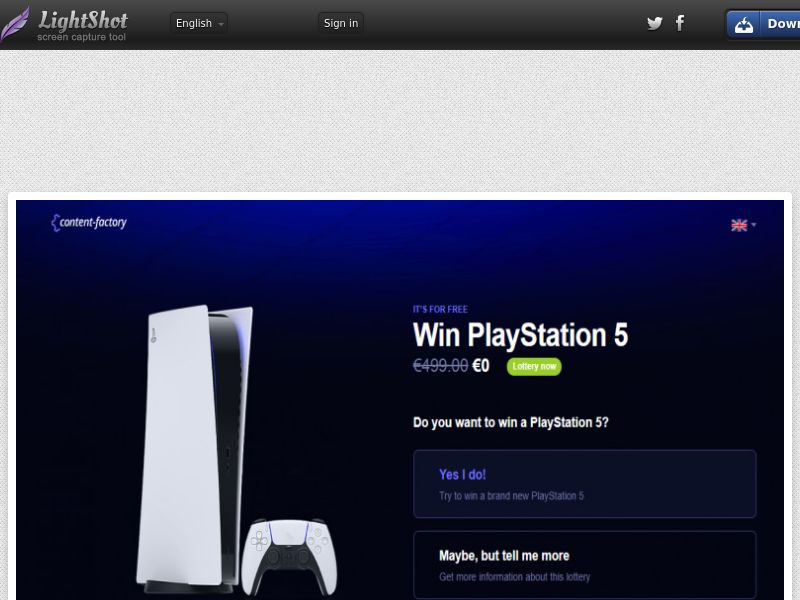 Content Factory - Win PS5 (FR, ES, IT, UK, CA) (Trial) (Personal Approval)