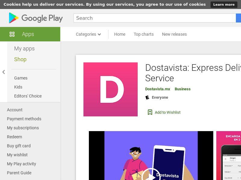 MX - Dostavista_Android CPA