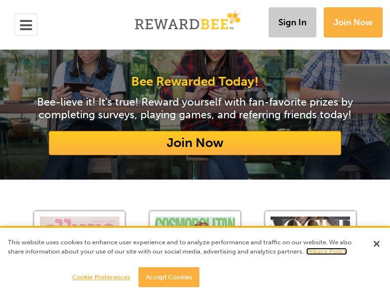 RewardBee: Summer Time 2020