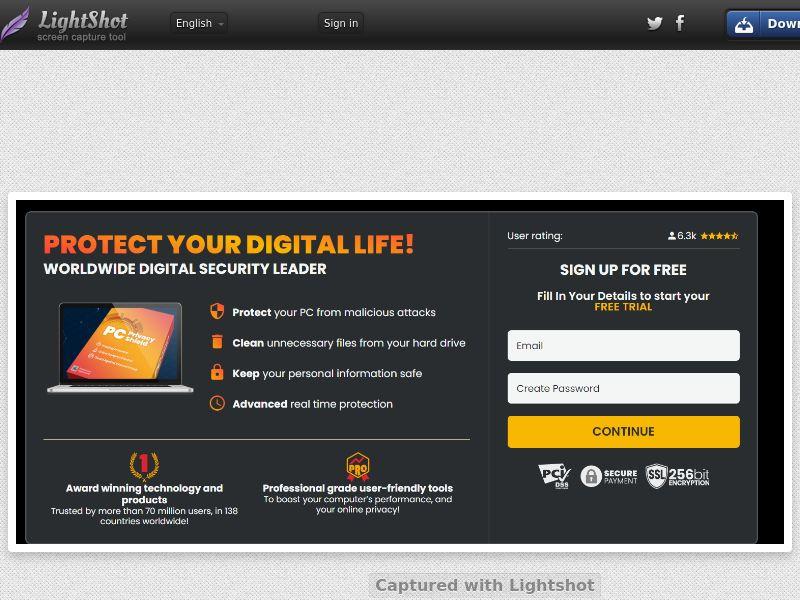 ProtectNow PC Privacy - Direct Registration (Black) (CC Trial) - Australia