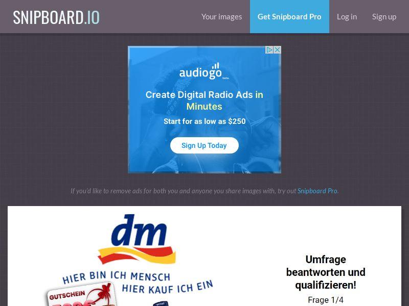 41263 - DE - DM voucher - [DE] - CPL - DOI - WEB - WAP [No-Incent]