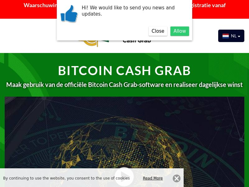 Bitcoin Cash Grab Dutch 1891