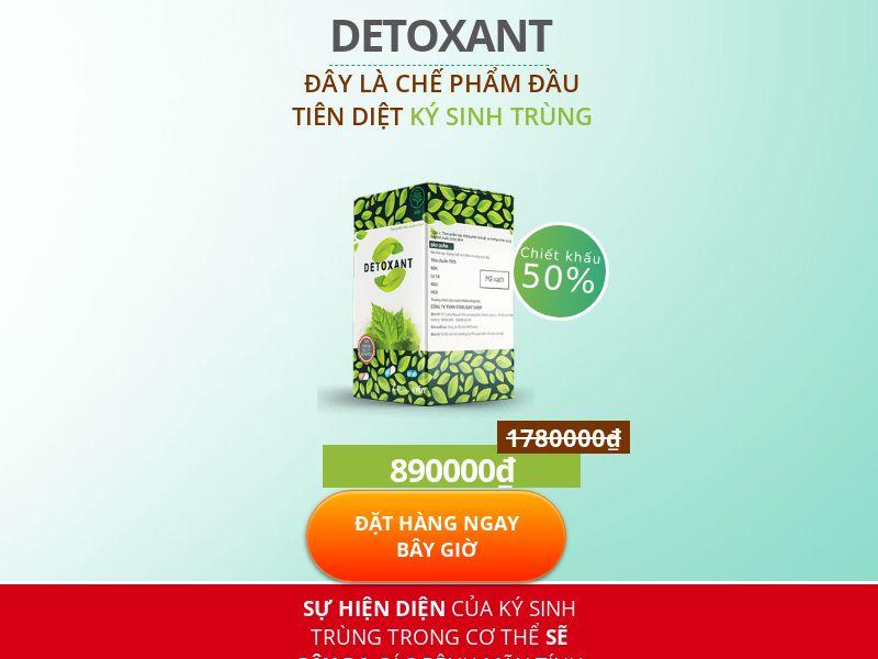 Detoxant VN - anti-parasite product