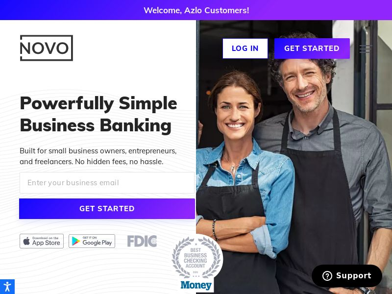 Bank Novo - Small Business Banking - INCENT - US