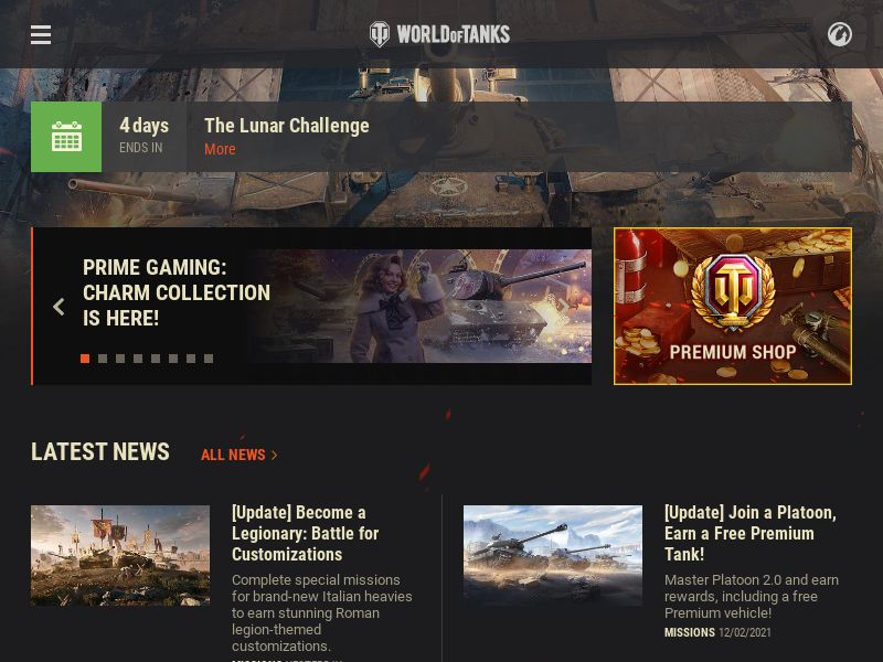 WORLD OF TANKS DOI - Games - 10 Countries - CPP