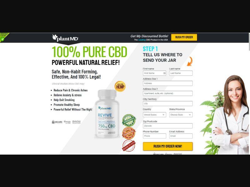 Plant MD Revive Gummies - CBD - SS - NO SEO - [US]