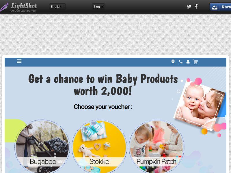 Aussie Prizes - Baby Products (Sweepstake) (SOI) - Australia