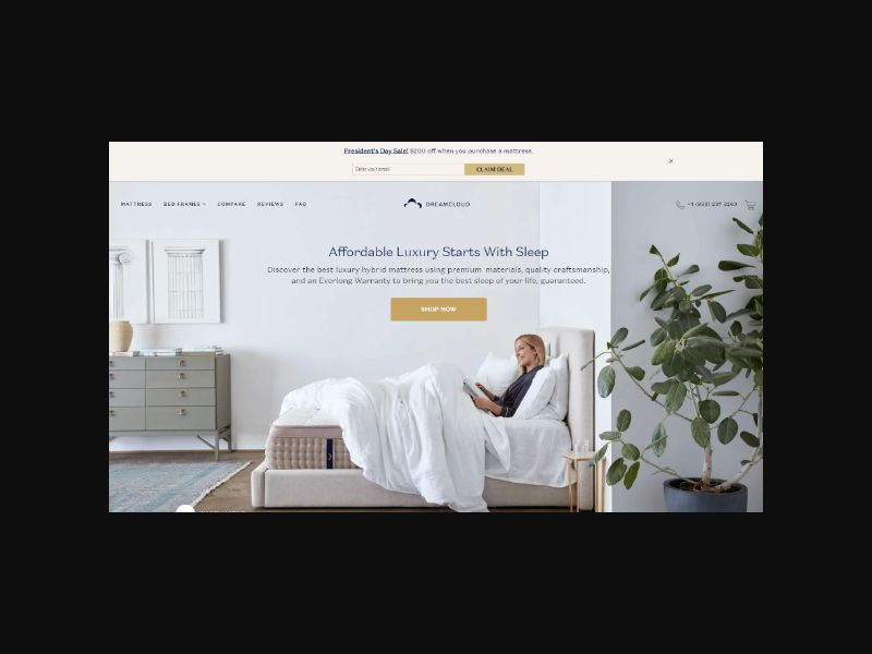 DreamCloud - The Comfortable Luxury Mattress (US)