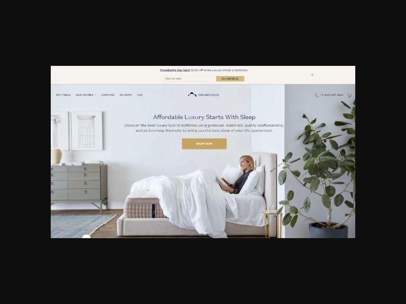 DreamCloud - The Comfortable Luxury Mattress (US)