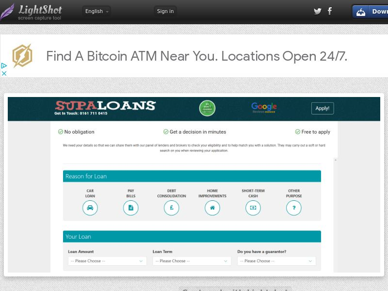 Supa Loans (UK) (CPL) (Personal Approval)
