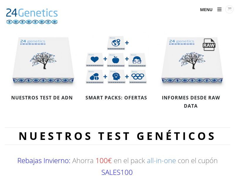 24Genetics - ES (ES), [CPS], Other, Health and Beauty, Medicine, Sell, coronavirus, corona, virus, keto, diet, weight, fitness, face mask