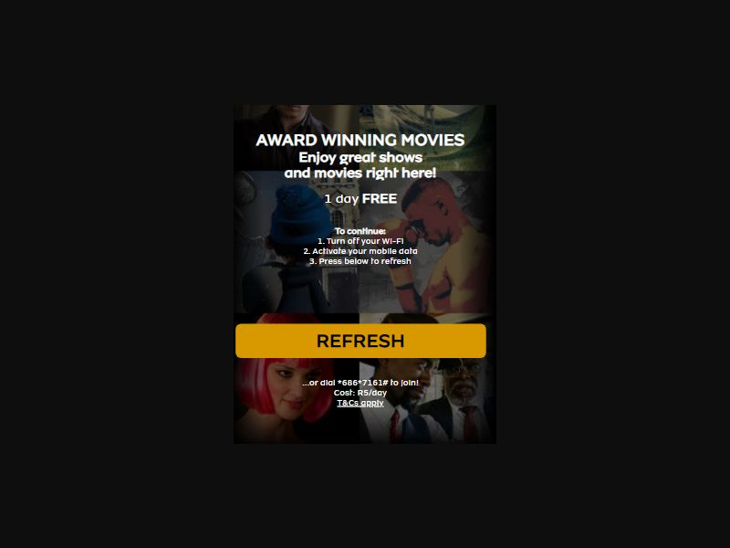 ZA - Movies (MTN only) [ZA] - 2 click
