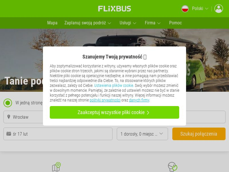 Flixbus.pl (PL), [CPS], Transport and Travel, Transport, Sell, holiday
