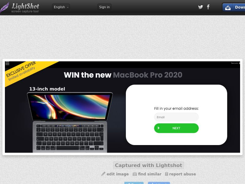 YouSweeps - WIN the new MacBook Pro 2020 (UK) (CPL) (Personal Approval)