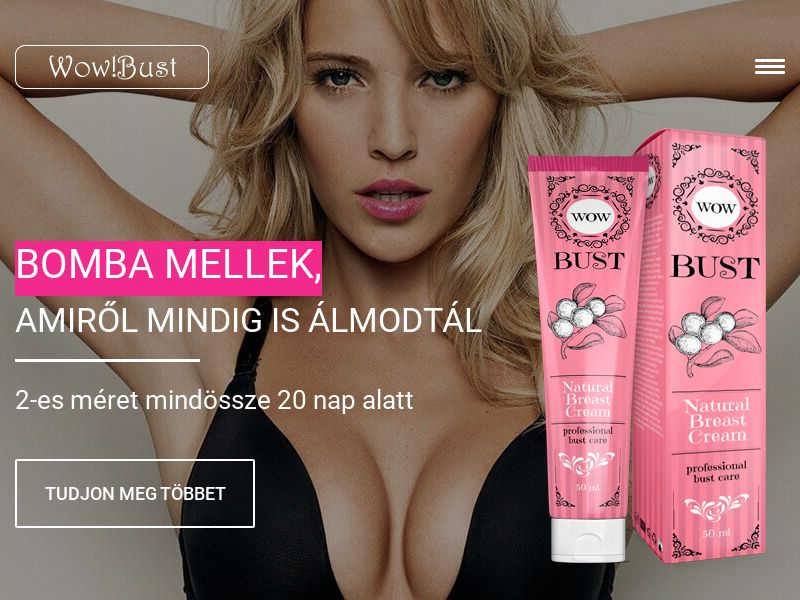 Wow Bust HU - breast enhancement cream