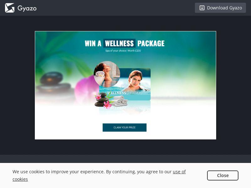 Wellness Voucher - UK - Incent OK