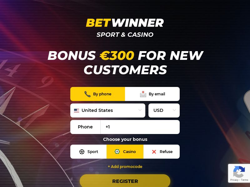 Sports & Casino - BetWinner Official (SE Mobile) (CPA, RevShare, Hybrid available)