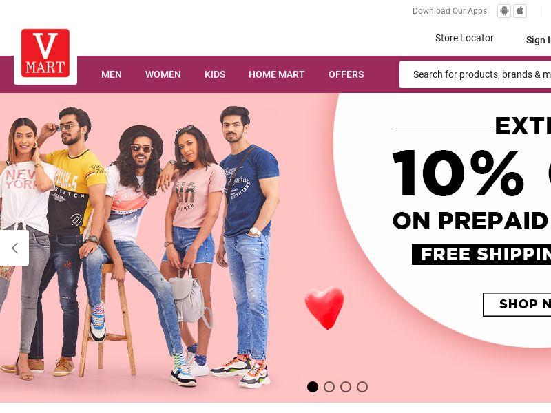 Vmartretail.com CPS - India