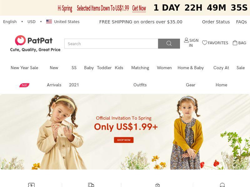Patpat.com CPS - Worldwide