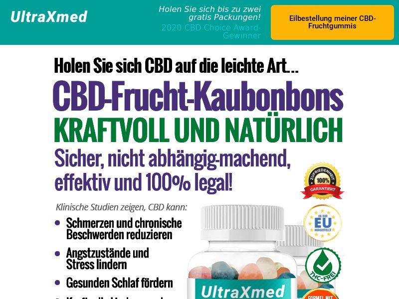 Ultra X Med CBD Gummies (CPA) (SS) (DE) (AT) (CH)