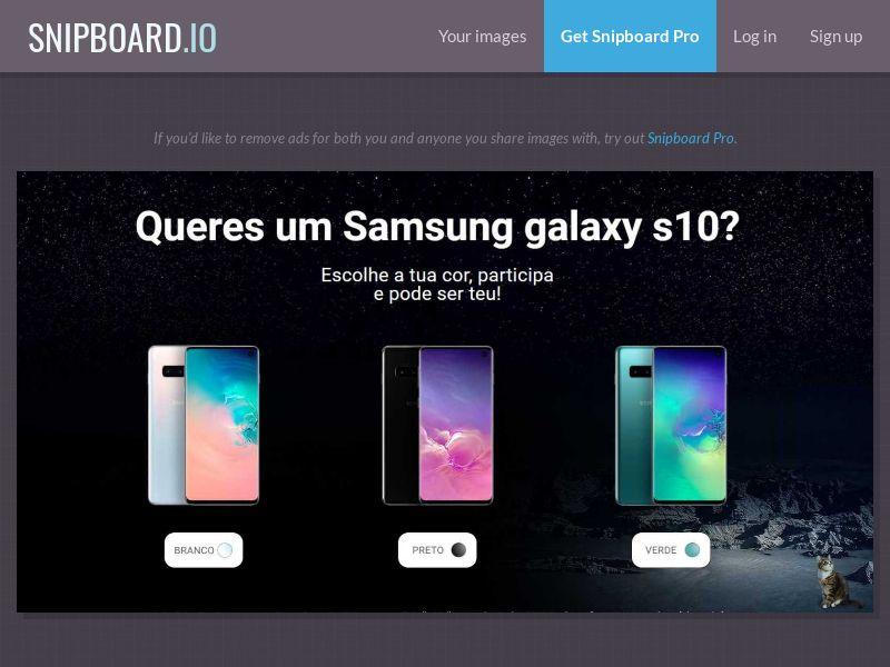 37571 - PT - PremiosFaciles - Samsung S10 - SOI