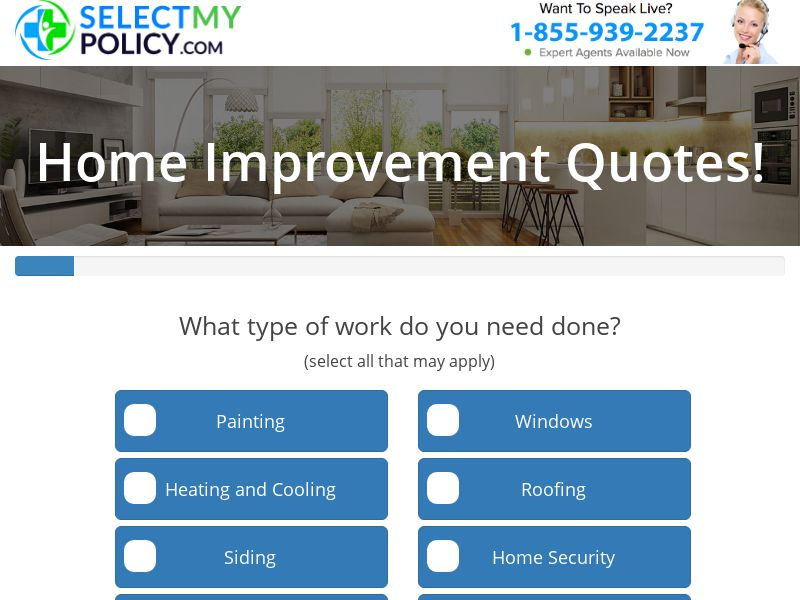 SelectMyPolicy.com / Home Improvement