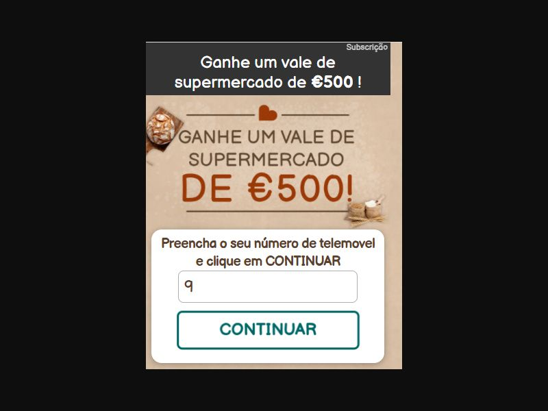 5189 | PT - Shoopadoo - Sprmrkt087b70 - MUE super | PT | Pin submit | Vodafone | Mainstream | Sweepstakes
