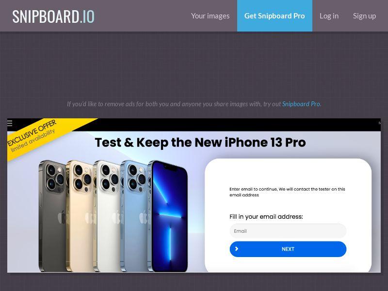 ForYouPromo - iPhone 13 Pro US - SOI