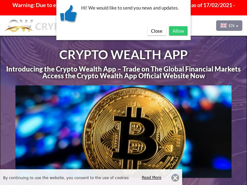 Crypto Wealth App Portuguese 2469